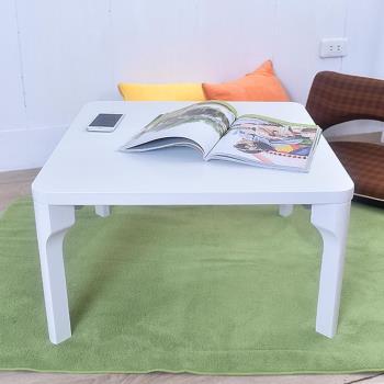 和室桌 茶几桌 折疊桌 方型白色60x60cm