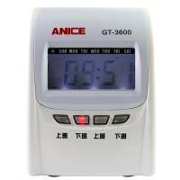 Anice微電腦液晶顯示四欄位專業打卡鐘 GT-3600