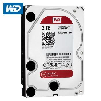 WD 威騰 WD30EFRX 紅標 3TB 3.5吋NAS硬碟(NASware3.0)