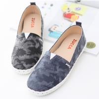 ZUCCA【z6204】繽紛色渲染彩平底包鞋-藍色/黑色
