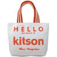 Hello Kitson 帆布手提包(紅,小)