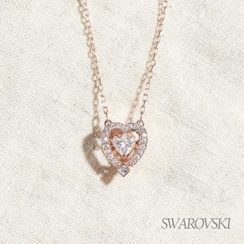 SWAROVSKI 施華洛世奇 Sparkling Dance Heart 舞動心項鏈