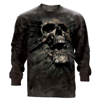『摩達客』(預購)美國進口The Mountain 突破骷髏頭 純棉長袖T恤
