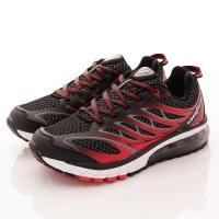 GOODYEAR-黑曜之星氣墊跑鞋-MR73372黑紅-男款