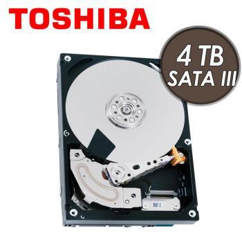 TOSHIBA 東芝 4TB 3.5吋 7200轉 內接硬碟 三年保(MD04ACA400)
