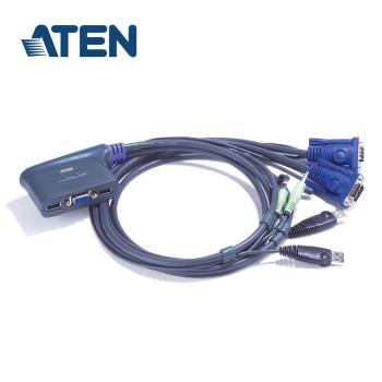 ATEN 2埠 USB KVM多電腦切換器 (CS62U)