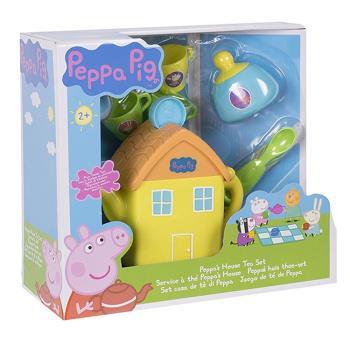 【 Peppa Pig 】粉紅豬小妹 房屋茶壺組