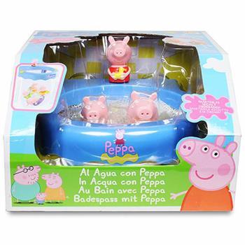 【 Peppa Pig 】粉紅豬小妹 快樂洗澡遊戲組