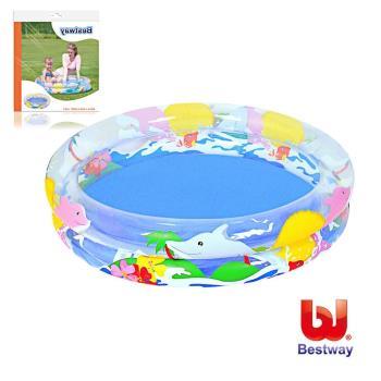 《哈街》Bestway。兒童透明海洋生活充氣水池