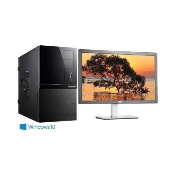 Genuine 捷元 GP888 Optane 8Z-8Q i3-8100四核 Win10Pro電腦+AOC捷元 i2276VW6 21.5吋 液晶螢幕 超值組