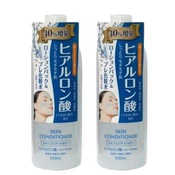 日本 Naris up 玻尿酸保濕敷顏化妝水 500ml(二入組)