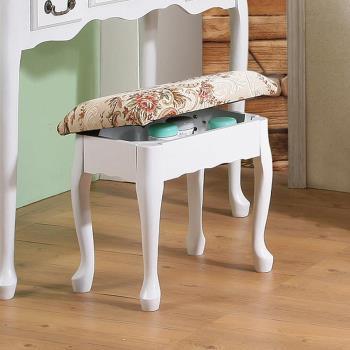 《C&B》英倫風歐式收納化妝椅