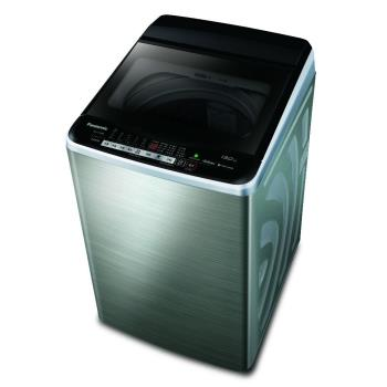 送吸濕毯★ Panasonic國際牌13公斤雙科技變頻洗衣機(不鏽鋼)NA-V130EBS-S
