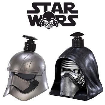 STAR WARS PHASMA 普拉斯馬隊長+KYLO 基羅 3D珍藏限量版公仔 二合一沐浴洗髮精 500ml