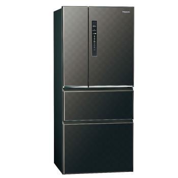Panasonic國際牌610L四門變頻電冰箱(星空黑)NR-D619HV-K