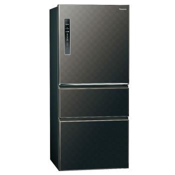 Panasonic國際牌610L三門變頻電冰箱(星空黑)NR-C619HV-K