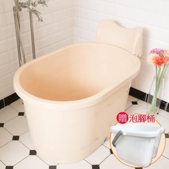 SPA頭枕式泡澡桶