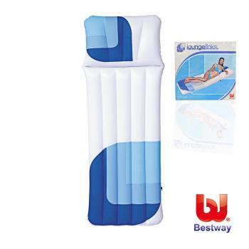 《哈街》Bestway。枕頭式水上單人充氣床墊