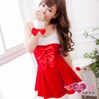 【天使霓裳】耶誕福音 聖誕舞會角色扮演服(紅) HS14105