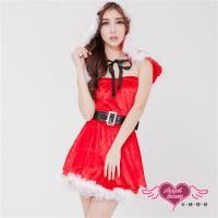 天使霓裳 聖誕服 木屋渡假童話女孩 角色服(紅F) BC151