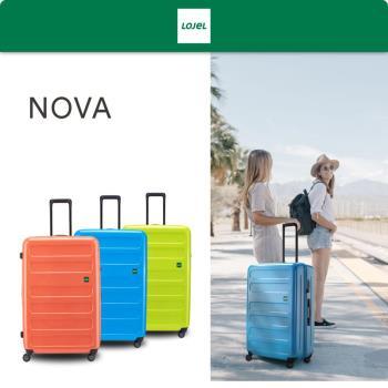 《Traveler Station》LOJEL NOVA 防盜拉練硬殼26吋 行李箱 旅行箱 三色可選
