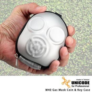 UNICODE 防毒面具零錢包 M40
