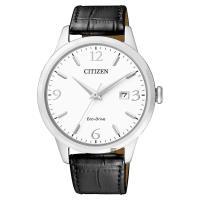 CITIZEN 星辰 光動能紳士手錶 白x黑 40mm BM7300-09A
