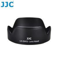 JJC副廠Canon遮光罩LH-EW53相容EW-53適EF-M 15-45mm f/3.5-6.3 IS STM