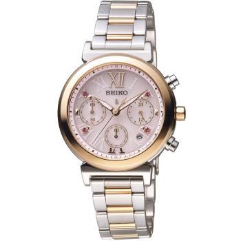 精工 SEIKO Lukia 華麗奇幻巴黎時尚腕錶 V175-0DR0K SSC852J1