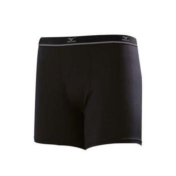 MIZUNO 男運動內褲-短褲 美津濃 黑灰