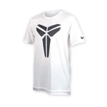 NIKE 男針織短袖上衣-T恤 短T 籃球 NBA KOBE BRYANT 柯比 白黑