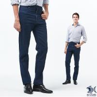 【NST Jeans】無重力波紋 澄藍 秋冬單寧長褲(中腰) 395(66497)