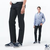【NST Jeans】暗黑華爾滋 洗鍊黑 商務休閒褲(中腰) 393(66490)