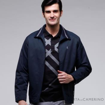 ROBERTA諾貝達 台灣製 休閒百搭 內裡舖棉 夾克外套 ROT75-39灰藍