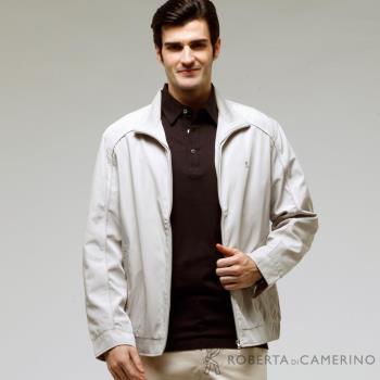 ROBERTA諾貝達 台灣製 經典休閒夾克外套 ROT73-82淺灰