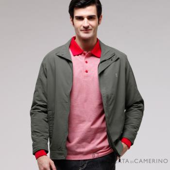 ROBERTA諾貝達 台灣製 經典休閒夾克外套 ROT72-48暗綠