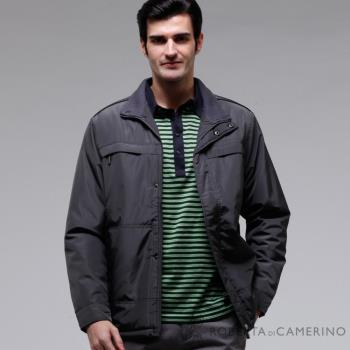 ROBERTA諾貝達 台灣製 超值嚴選 內裡舖棉夾克外套 ROT58-97鐵灰