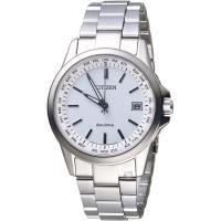 星辰 CITIZEN  GENTS 嶄新世界限量電波時計腕錶 CB1090-59A