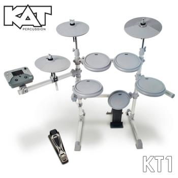 『KAT』美國品牌標準規格電子鼓組 / 含鼓椅、鼓棒、耳機 (KT-1)