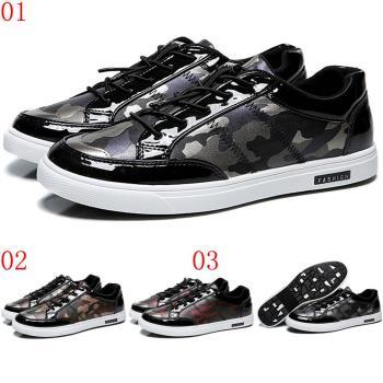 (預購)CARTELO卡帝樂鱷魚潮新款迷彩男運動休閒板鞋310635