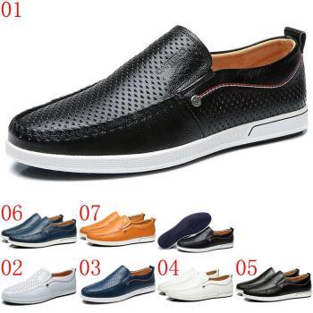 (預購)CARTELO卡帝樂鱷魚男真皮透氣孔休閒皮鞋鞋330608