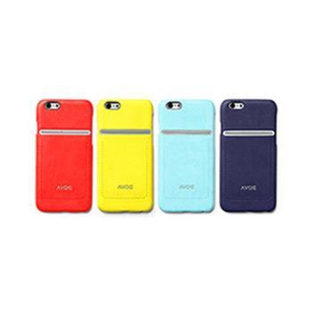 ZENUS 韓國直送 AVOC Apple iPhone6/6s 4.7吋 站立車線 皮革保護殼