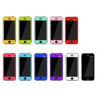 MERCURY Apple iPhone5/5S 專用彩色保護貼