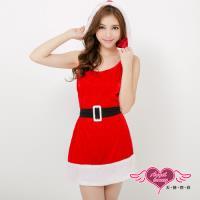 【天使霓裳】耶誕服 北歐女孩 狂熱聖誕舞會角色服(紅F) ZD80521