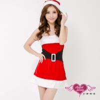 天使霓裳 耶誕服 簡約凡爾賽狂熱聖誕舞會角色服(紅F) ZD80520