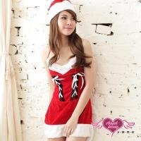 天使霓裳 迷人印象 狂熱聖誕舞會 耶誕服 角色服(紅F) ZD12118
