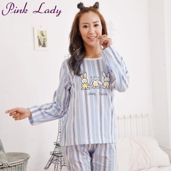 【PINK LADY】俏皮小兔居家棉柔型成套睡衣0714