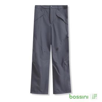 bossini男裝-高效熱能雪褲鐵灰