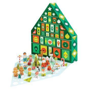 美國Petit Collage 降臨曆 歡樂聖誕