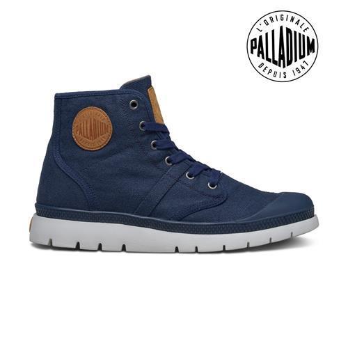 Palladium Pallabrique High LC-男-藍